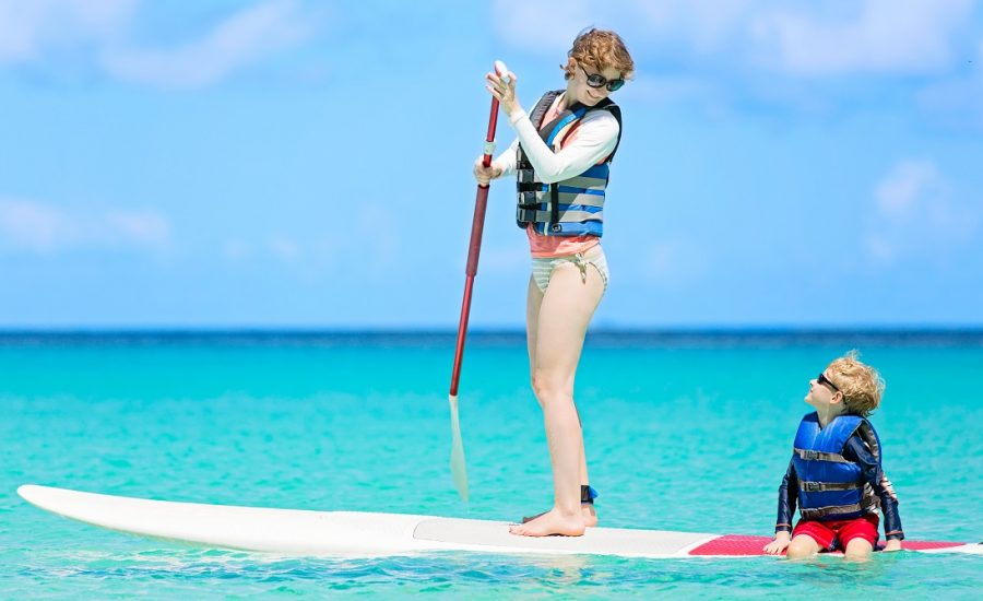 Here are 3 amazing reasons why you should go paddle boarding with your kids